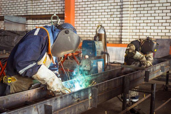 metal, welding, welder